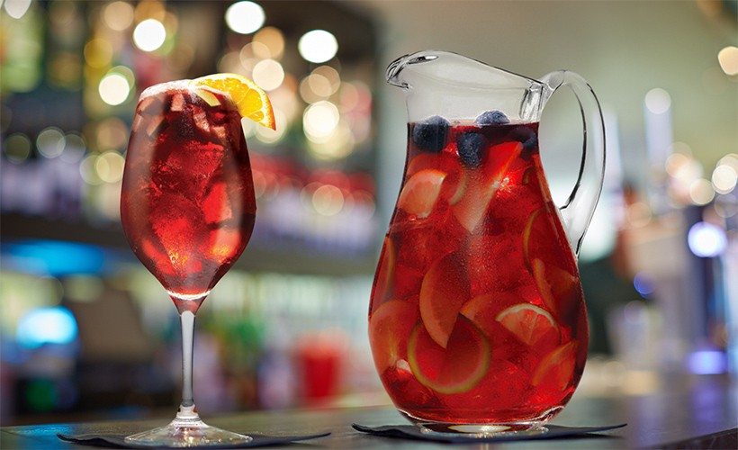 Free sangria Friday in August