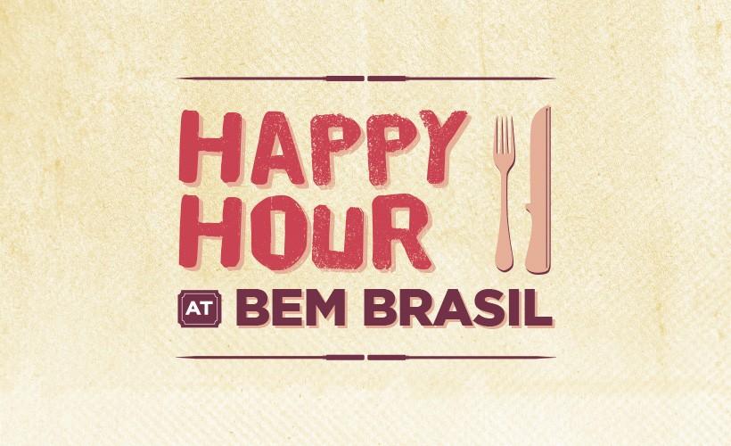 Bem Brasil Offer Happy Hour at Bem Brasil