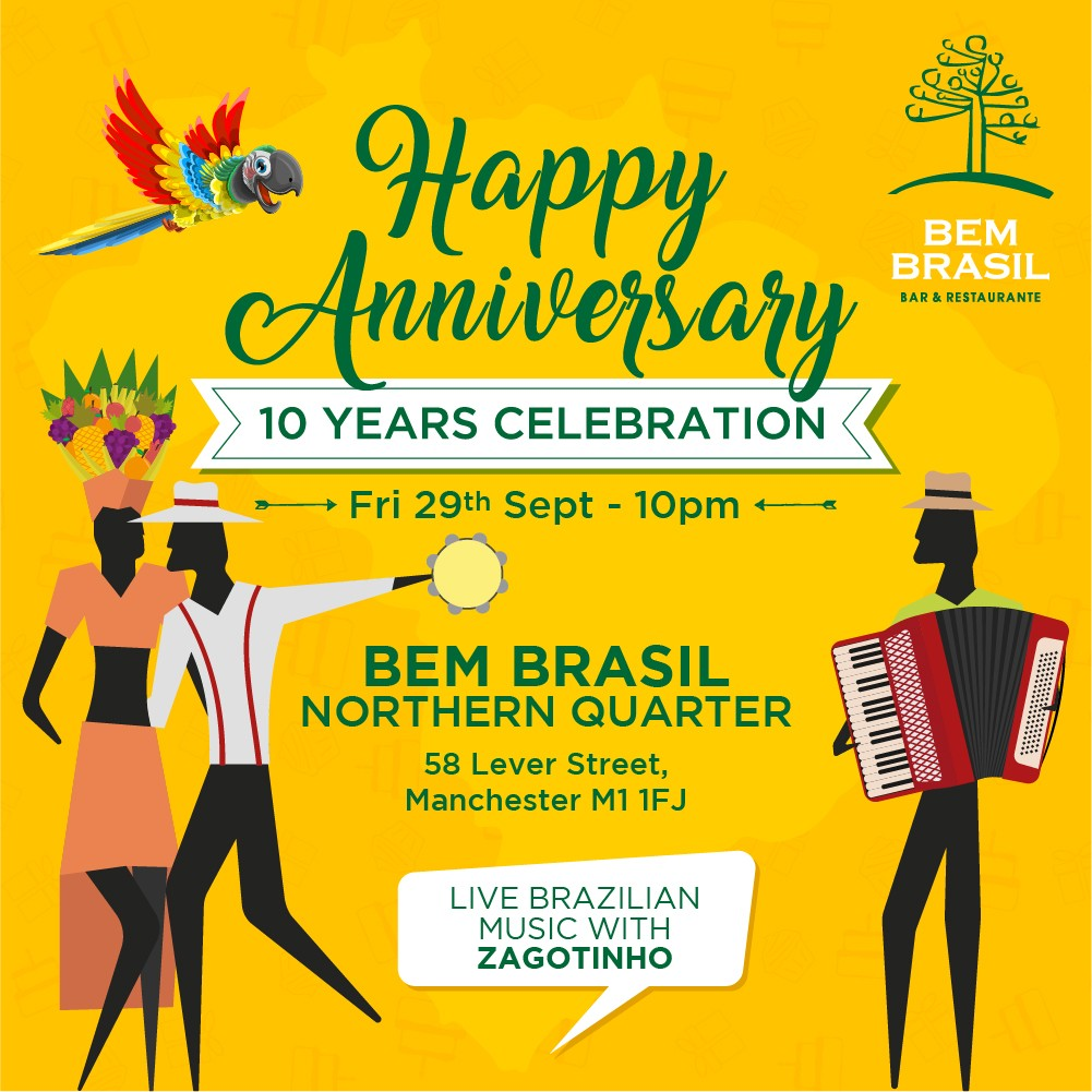 Bem Brasil Anniversary